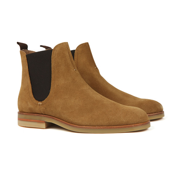 H By Hudson Mens Brown Adlington Suede Boot main image