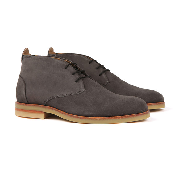 H By Hudson Mens Grey Bedlington Suede Boot main image
