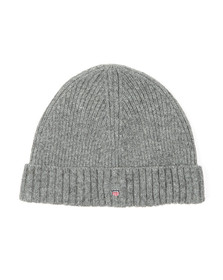 Gant Mens Grey Wool Beanie