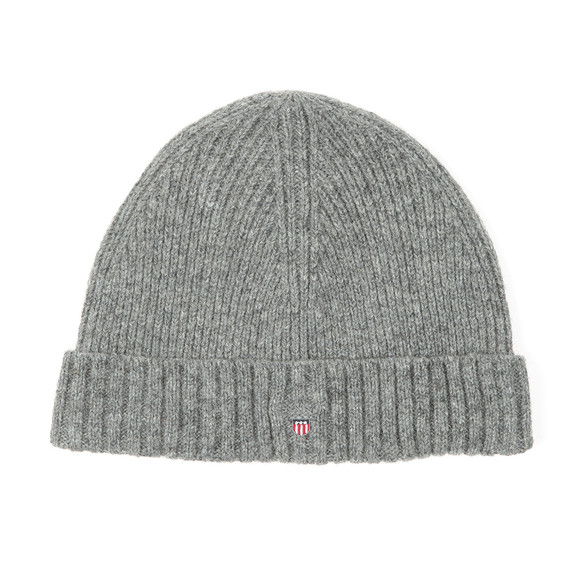 Gant Mens Grey Wool Beanie main image