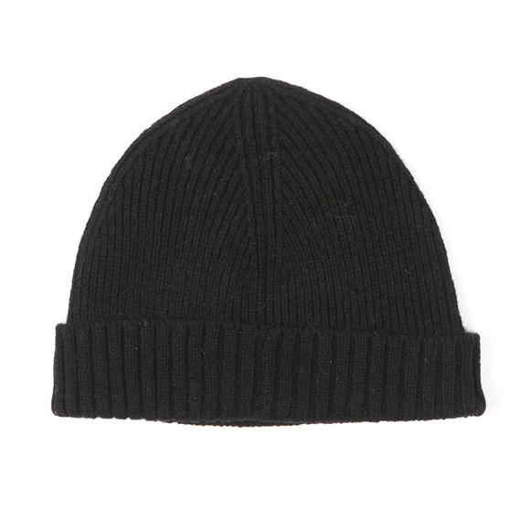 Gant Mens Black Wool Beanie main image