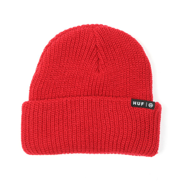 HUF Mens Red Usual Beanie main image