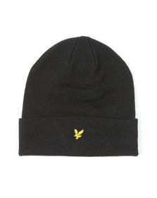 Lyle and Scott Mens Black Beanie