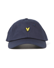 Lyle and Scott Mens Blue Cotton Twill Baseball Cap