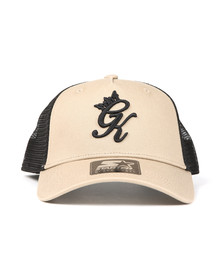 Gym King Mens Brown Mesh Trucker Cap
