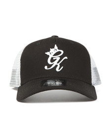 Gym King Mens Black Mesh Trucker Cap
