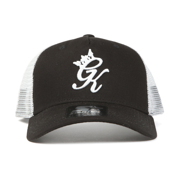 Gym King Mens Black Mesh Trucker Cap main image