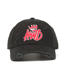 Kings Will Dream Mens Black Distressed Baseball Cap