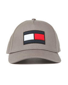Tommy Hilfiger Mens Grey SPW Flag Cap