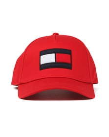 Tommy Hilfiger Mens Red SPW Flag Cap