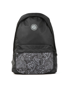 Pretty Green Mens Black Nylon Backpack
