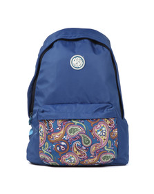 Pretty Green Mens Blue Nylon Backpack