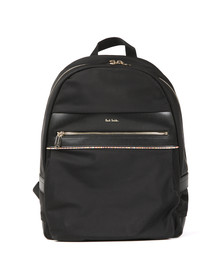 Paul Smith Mens Black Nylon Rucksack