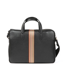 Paul Smith Mens Black Portfolio Stripe Bag