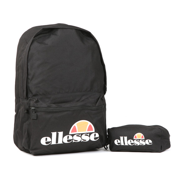 Ellesse Mens Black Rolby Backpack main image