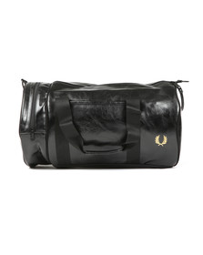 Fred Perry Sportswear Mens Black Classic Barrel Bag