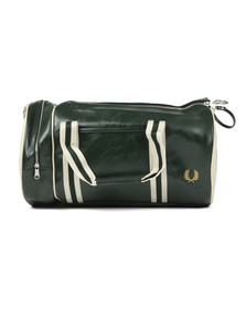 Fred Perry Sportswear Mens Green Classic Barrel Bag