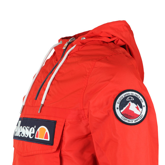 Ellesse Mens Red Mont 2 1/4 Zip Jacket main image