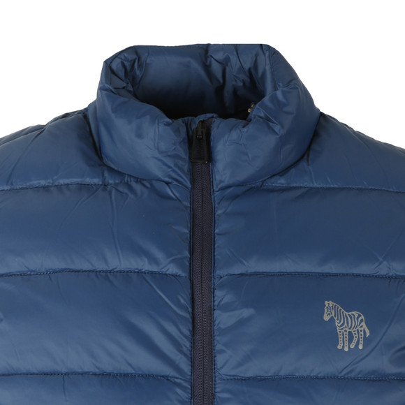 PS Paul Smith Mens Blue Quilted Gilet main image