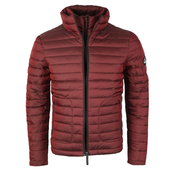 Superdry Mens Red Double Zip Fuji Jacket main image