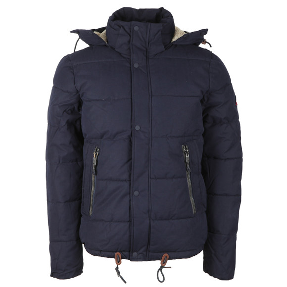 Superdry Mens Blue New Academy Jacket main image