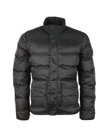 Barbour International Mens Black Tuck Quilt Jacket