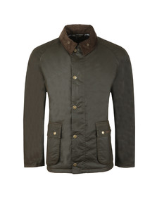 Barbour Lifestyle Mens Green Strathyre Wax Jacket