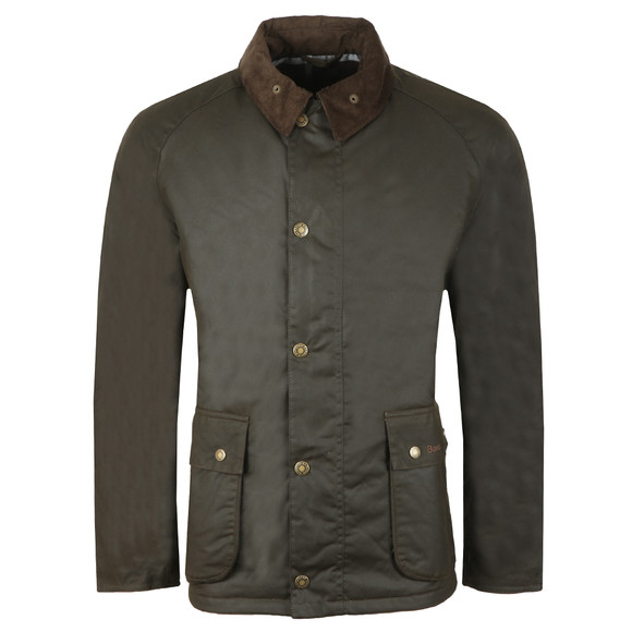 Barbour Lifestyle Mens Green Strathyre Wax Jacket main image