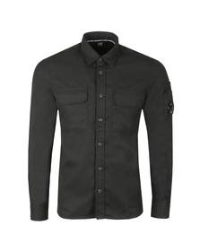 C.P. Company Mens Black Military Pocket Shirt