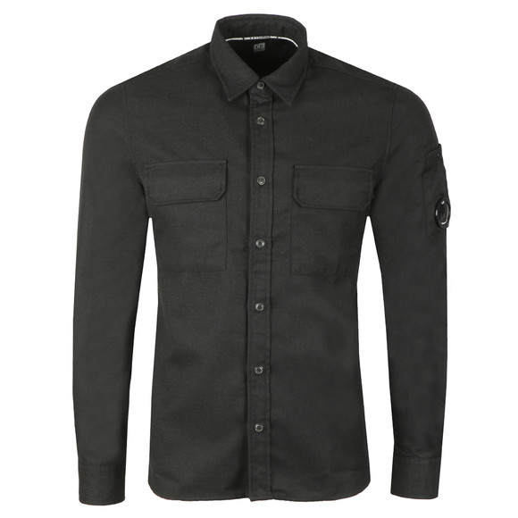 C.P. Company Mens Black Military Pocket Shirt main image