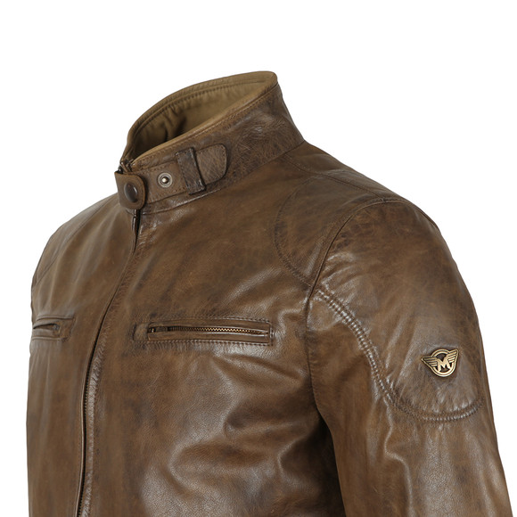 Matchless Mens Green Osborne Leather Blouson main image