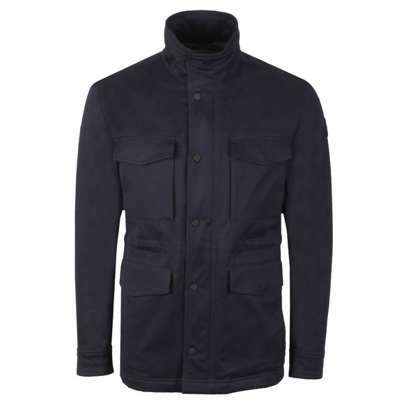 BOSS Mens Blue Casual Oroy Jacket main image