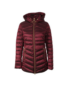 Barbour Lifestyle Womens Purple Ailith Quilted Jacket
