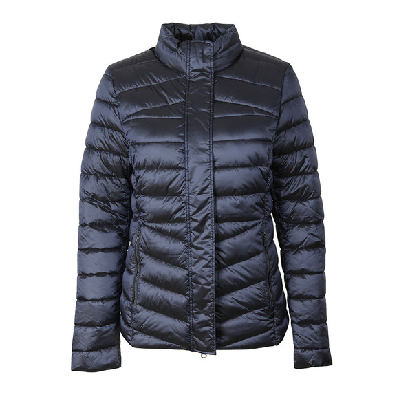 Barbour Lifestyle Womens Blue Vartersay Quilted Jacket