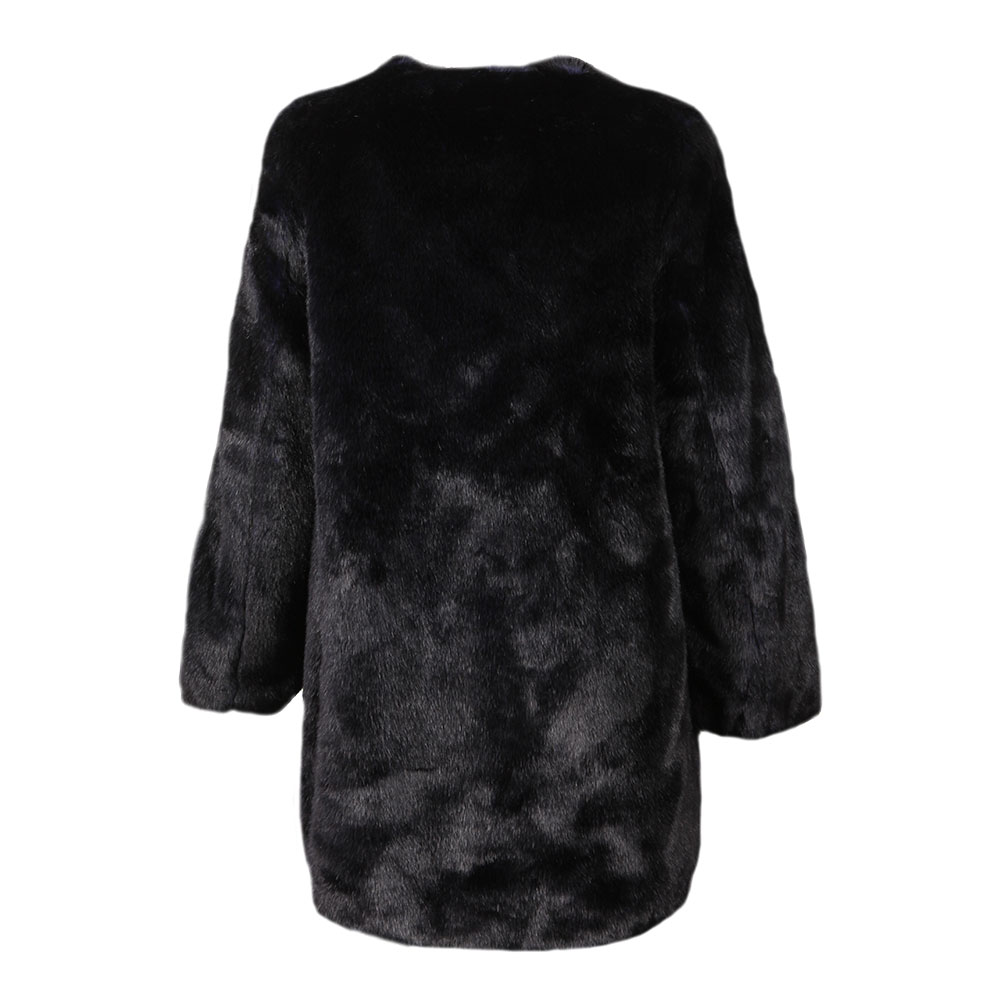 Long Faux Fur Coat main image