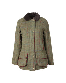 Barbour Countrywear Womens Green Carter Wool Jacket