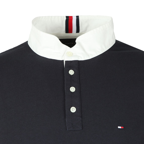 Tommy Hilfiger Mens Blue Relaxed Back Logo Rugger main image