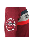 Superdry Mens Red Trophy LS Tee