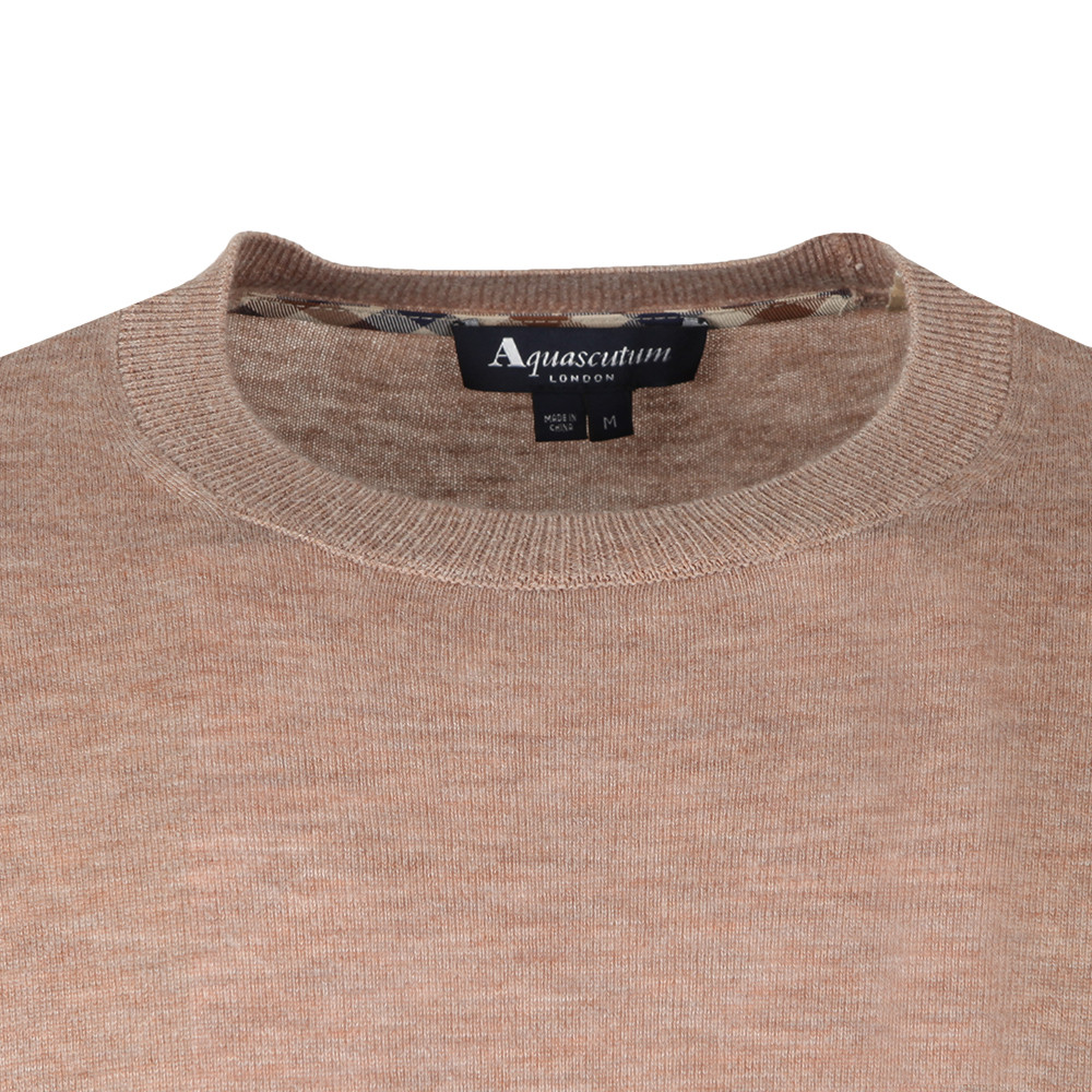 Croft Crew Neck With Elbow Patch main image