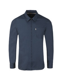 Aquascutum Mens Blue Brodie Nylon Shirt