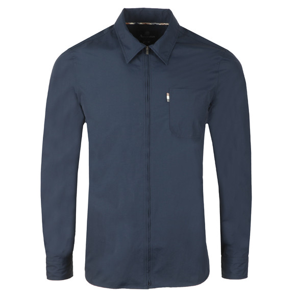Aquascutum Mens Blue Brodie Nylon Shirt main image