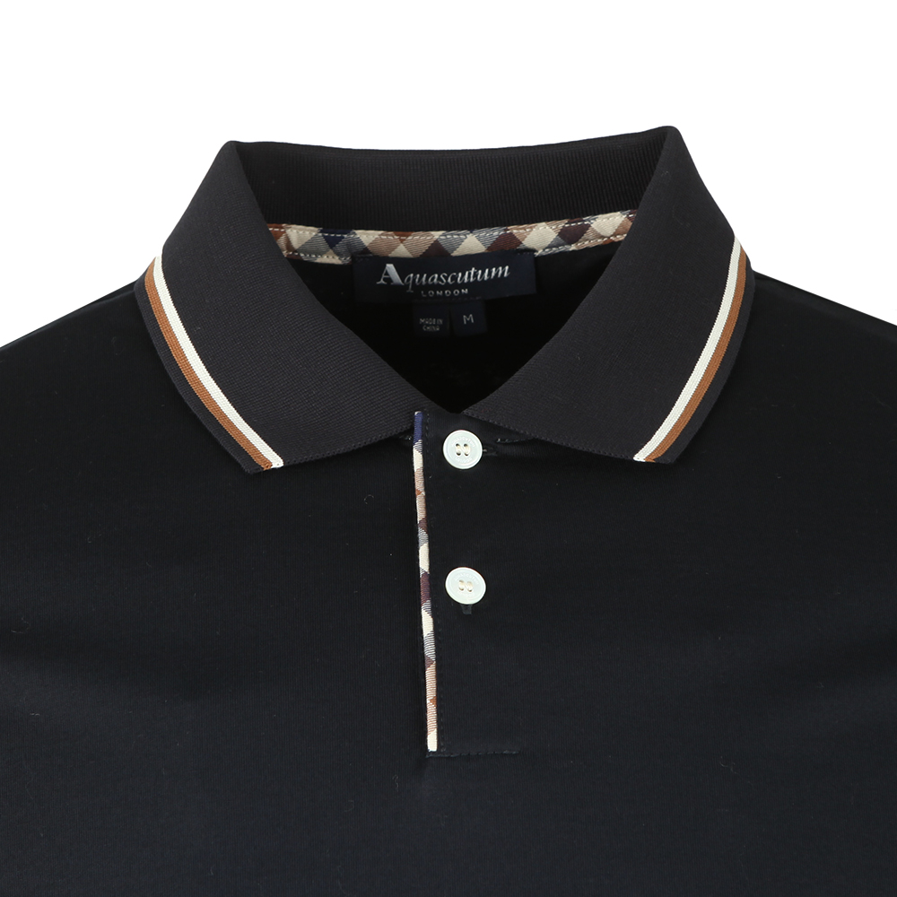 Bert LS Polo With Vicuna Tipping main image