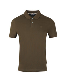 Aquascutum Mens Green Hill CC Polo
