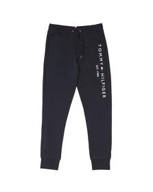 Tommy Hilfiger Mens Blue Basic Branded Sweatpant