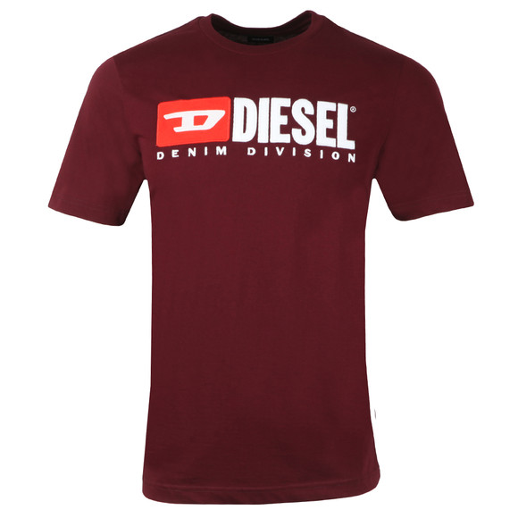 Diesel Mens Red T-Just Division T Shirt main image