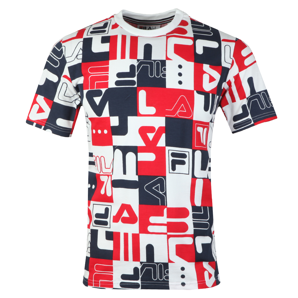 S/S Graphic All Over Print Tee main image