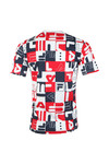 Fila Mens White S/S Graphic All Over Print Tee