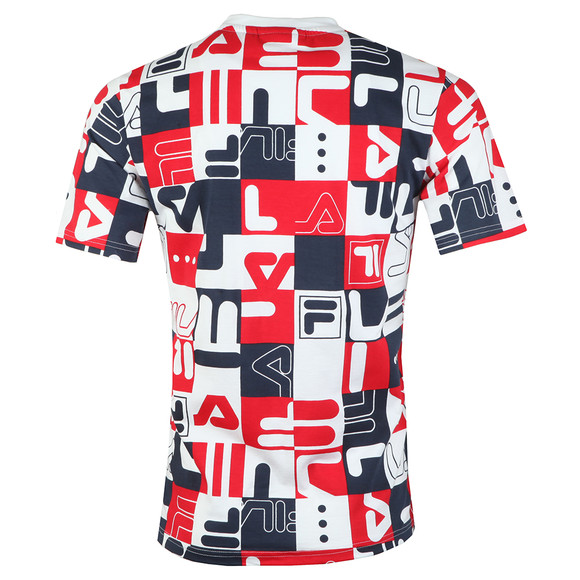 Fila Mens White S/S Graphic All Over Print Tee main image