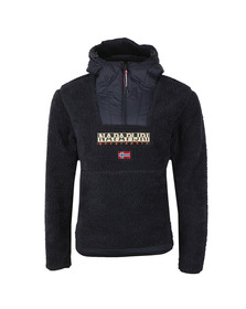 Napapijri Mens Blue Teide 1 Sherpa Fleece