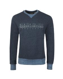 Napapijri Mens Blue Bia Sweatshirt